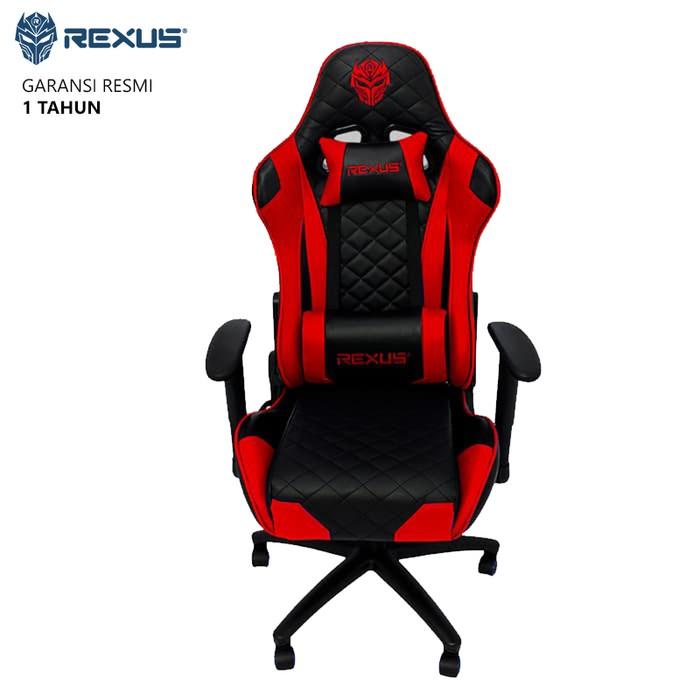 30- Kursi Gaming Rexus RGC101 Gaming Chair - Merah MURAH ...