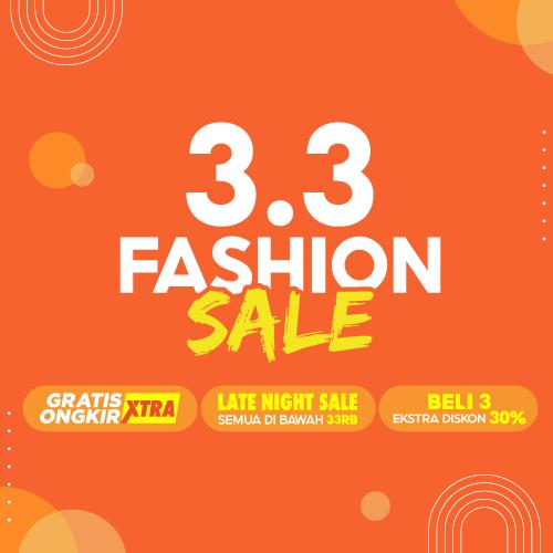 3.3 Fashion Sale 2021 | Shopee Indonesia