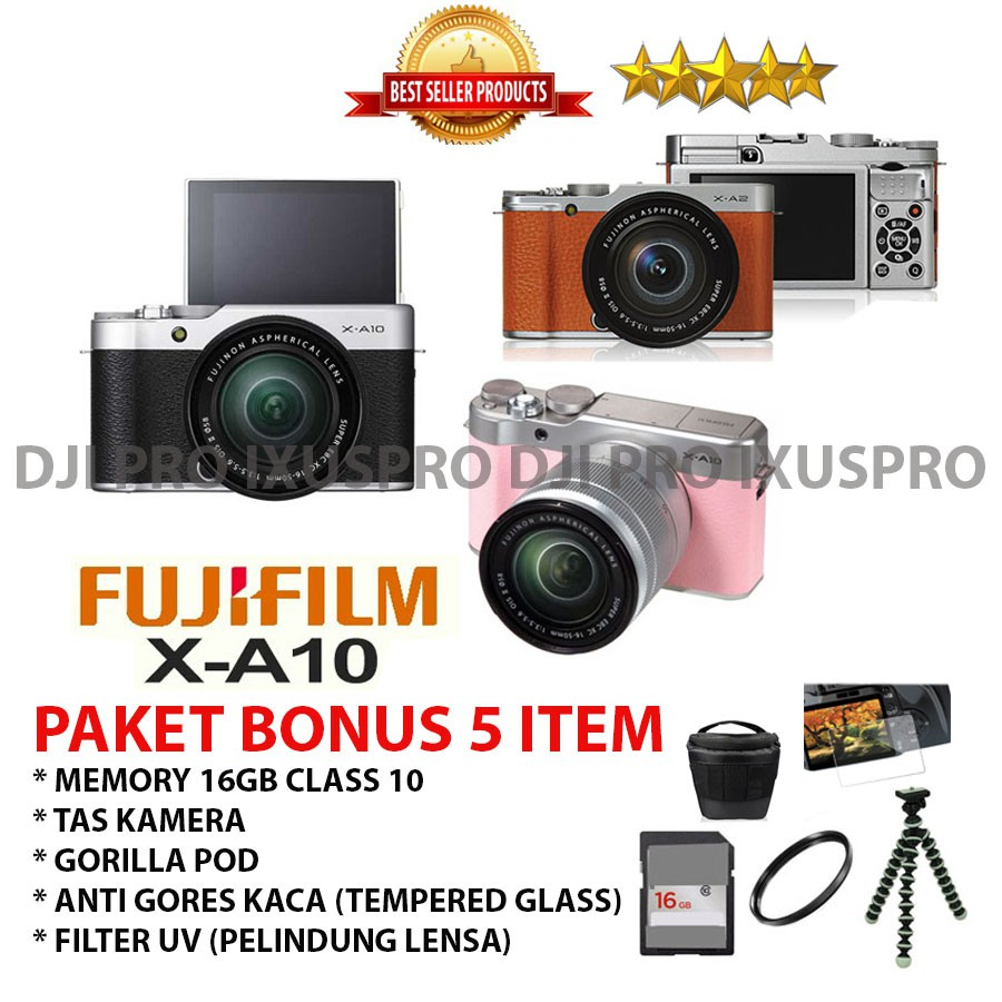 Fujifilm X A3 Kit Xc16 50mm Free Sdhc 16gb Mini 8 Garansi T100 Instax 16 Gb Tas Sirui Sling Bag Black Resmi Shopee Indonesia