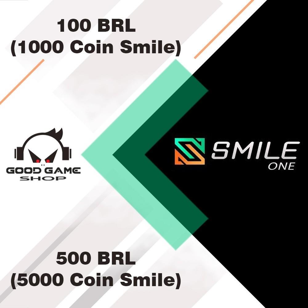 SMILE ONE CODE 1000 COIN / 100 BRL - 5000 COIN / 500 BRL -  CODE SMILE ONE - SMILE ONE CODE 100 BRL