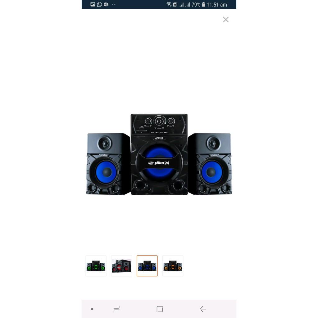 Barang Elektronik Niko Atomic Slank Speaker Multimedia 35 Watt Mifa A20 Bluetooth Xiaomi Original Garansi Not F7 A10 F6 F10 Shopee Indonesia