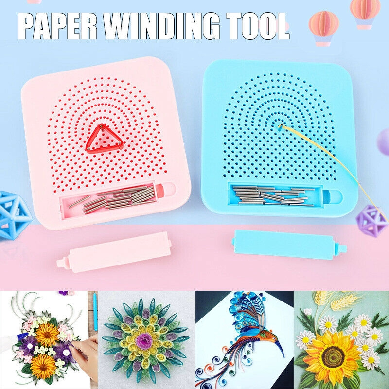 Needle Plate Paper Folding Gift Diy Paper Quilling Tool Grid Guide Handmade Paper Art Craft Tools Shopee Indonesia