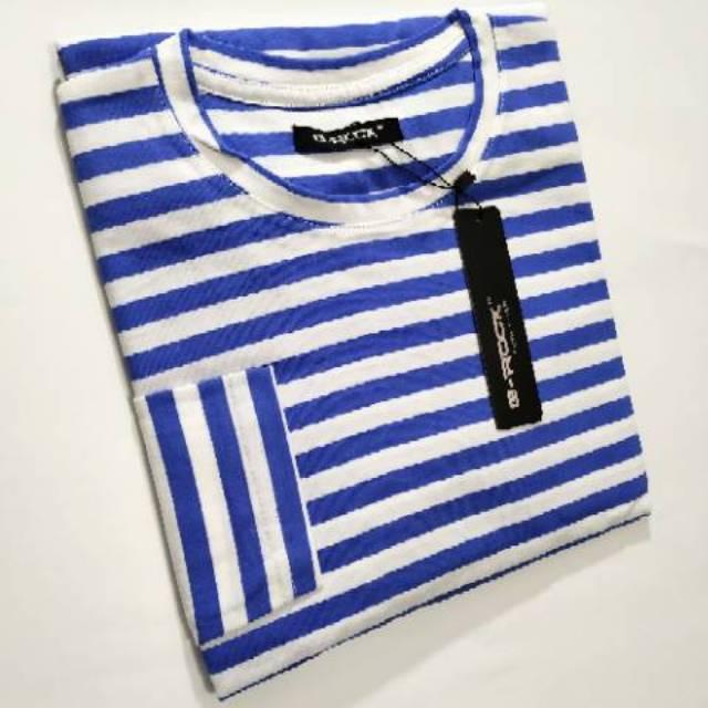 Lyric G-Rock Stripe Tee Kaos Salur Lengan Panjang