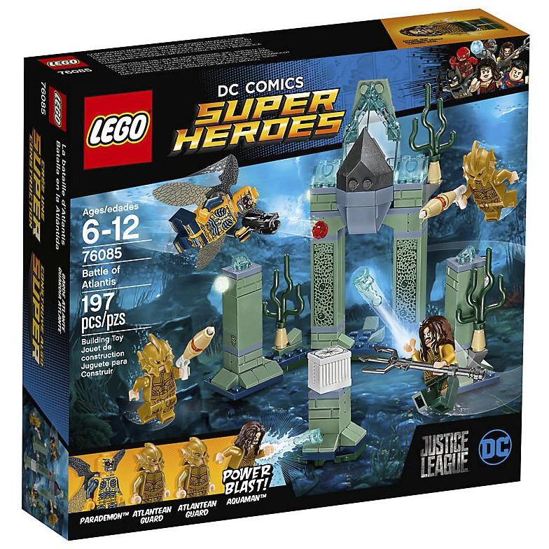 Atlantean Guard LEGO Battle of Atlantis Scared Minifig 76085