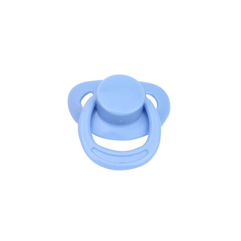 2pcs Blue Magnetic Pacifier Dummy Internal Soother Reborn Baby Dolls Accessories