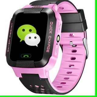 Jam Tangan Hp Anak Smart Watch Kids Nelpon Layar Sentuh Handphone GPS Produk Terbaru