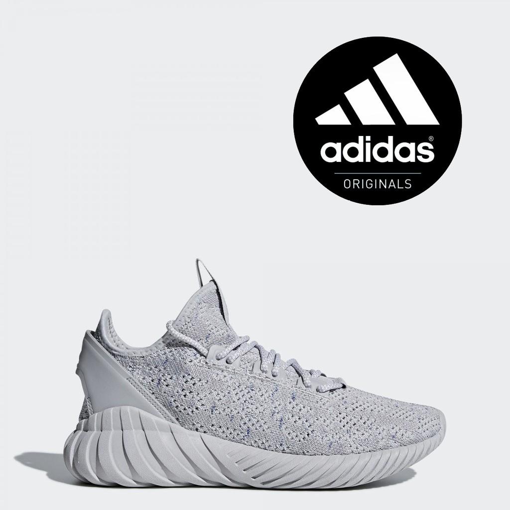 Sepatu Adidas Original Pria Tubular Doom Sock Primeknit BY3566 ... 59982485e2