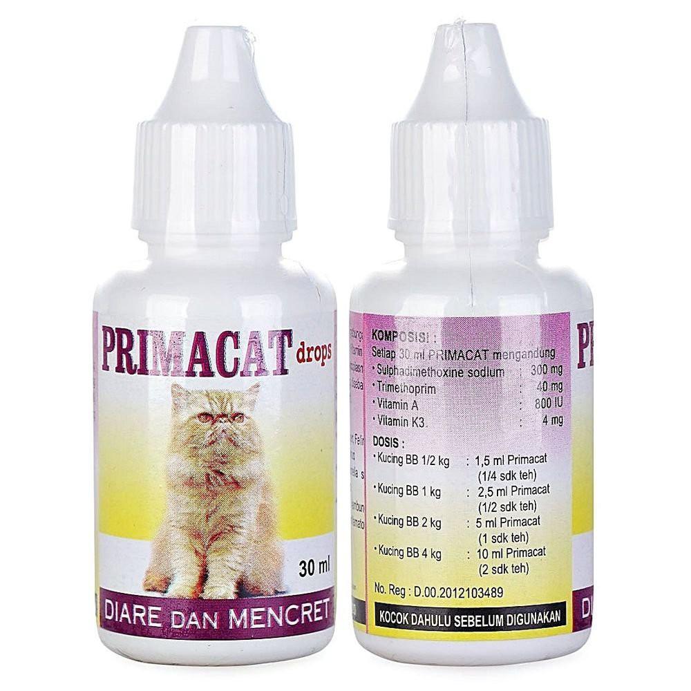 Primacat 30ml Obat Diare Kucing Obat Mencret Tamasindo Shopee Indonesia