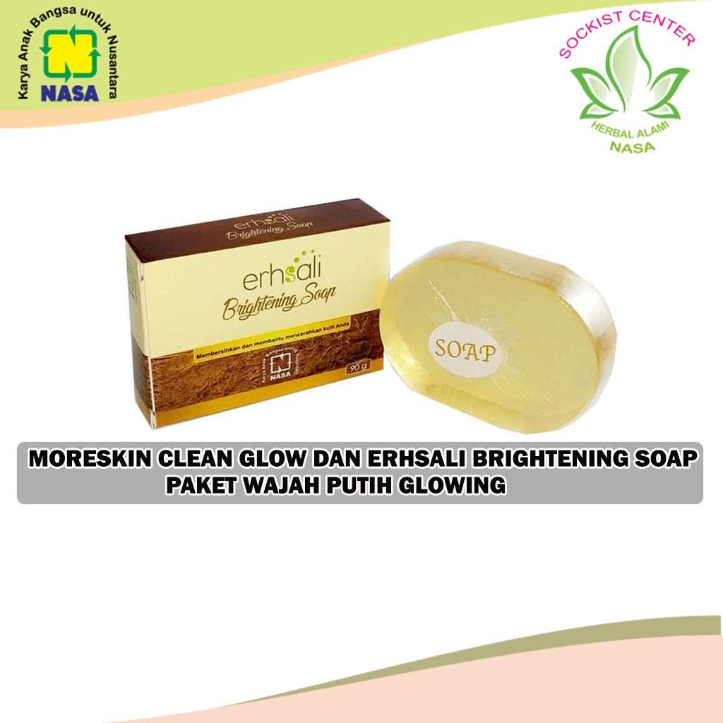 Erhsali Brightening Soap Nasa Shopee Indonesia