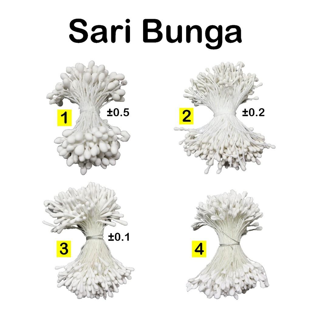 Kawat Putih No.16-30 - Batang Bunga - Tangkai Bunga - Perlengkapan Florist  - Menghias Kue - Ikat  f6d78ee52d