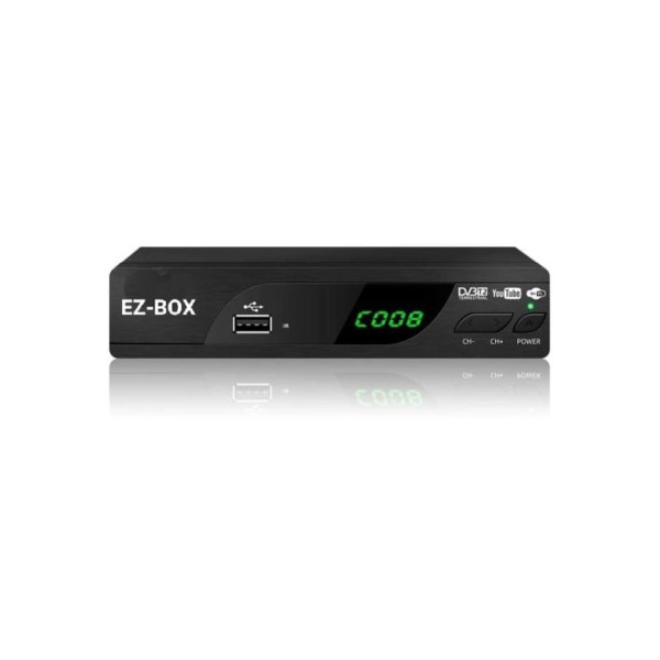 EZ-BOX SET DVB T2 SET TOP BOX PENERIMA SIARAN TV DIGITAL
