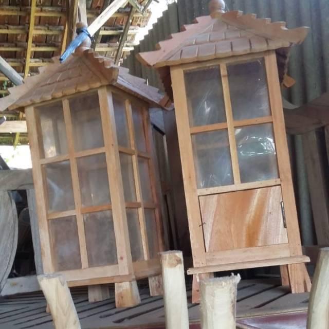Lampu Taman Kayu Dekorasi Shopee Indonesia