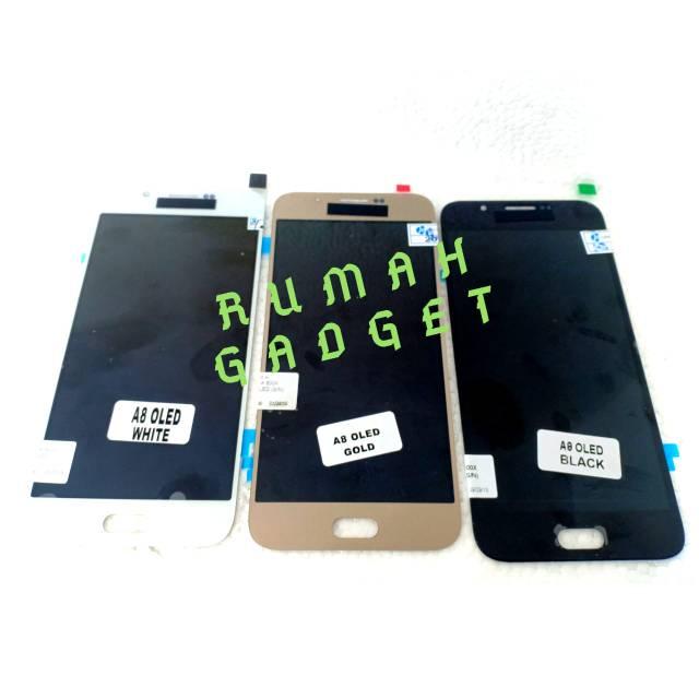 LCD SAMSUNG A800 A8 2015 OLED FULLSET TOUCHSCREEN