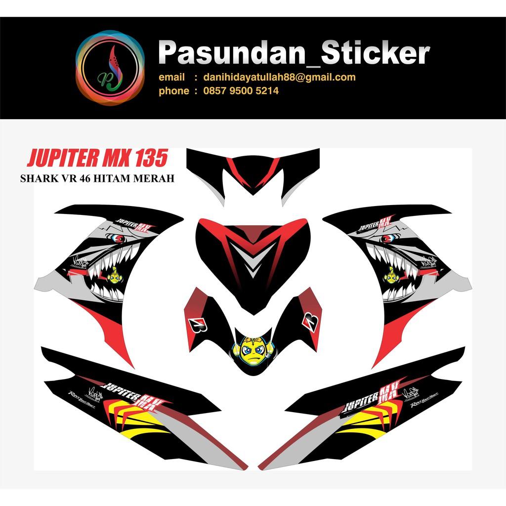 Sticker jupiter temukan harga dan penawaran aksesoris motor online terbaik otomotif april 2019 shopee indonesia