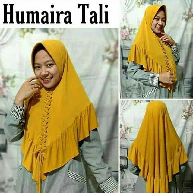 Hijab Instan Jersey Humaira Tali Jilbab Instan Jersey Humaira Tali Shopee Indonesia