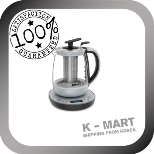 Tefal chiller infuser 1.5L Premium Health Teapot Electric Glass Kettle Tea Infuser Electric Kitle