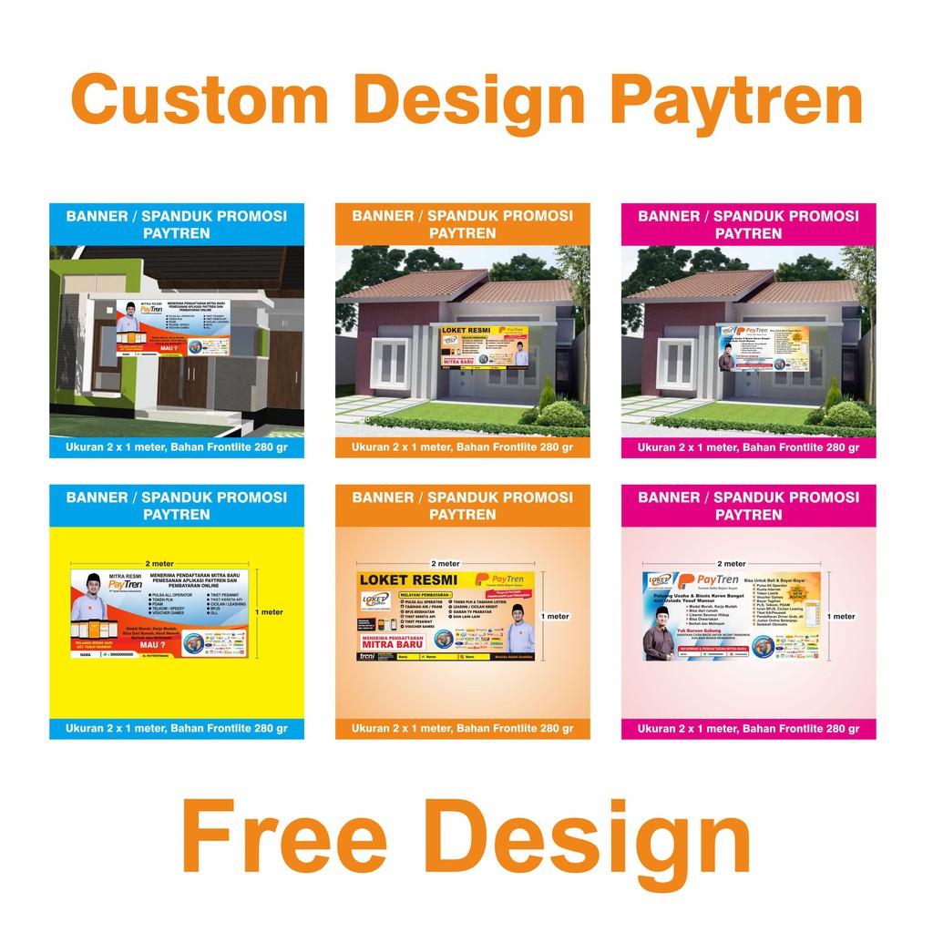 Desain Banner Rumah Dijual - Situs Properti Indonesia