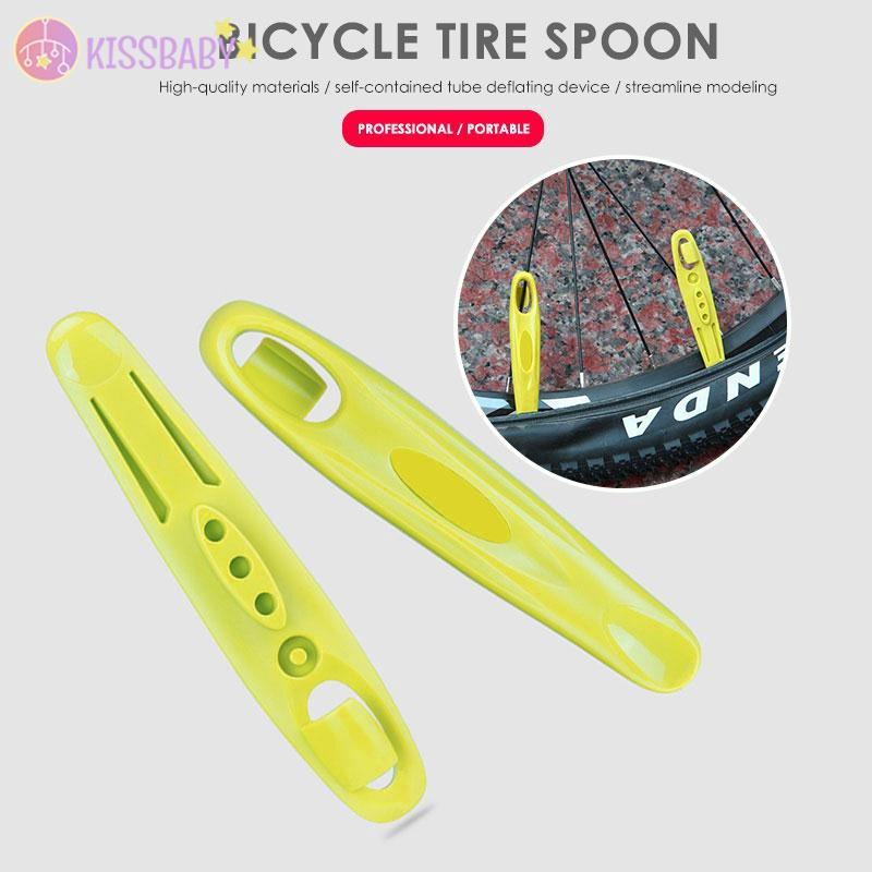 Portable Bicycle Tire Change Plastic Spoon Stick Repair Tool LC