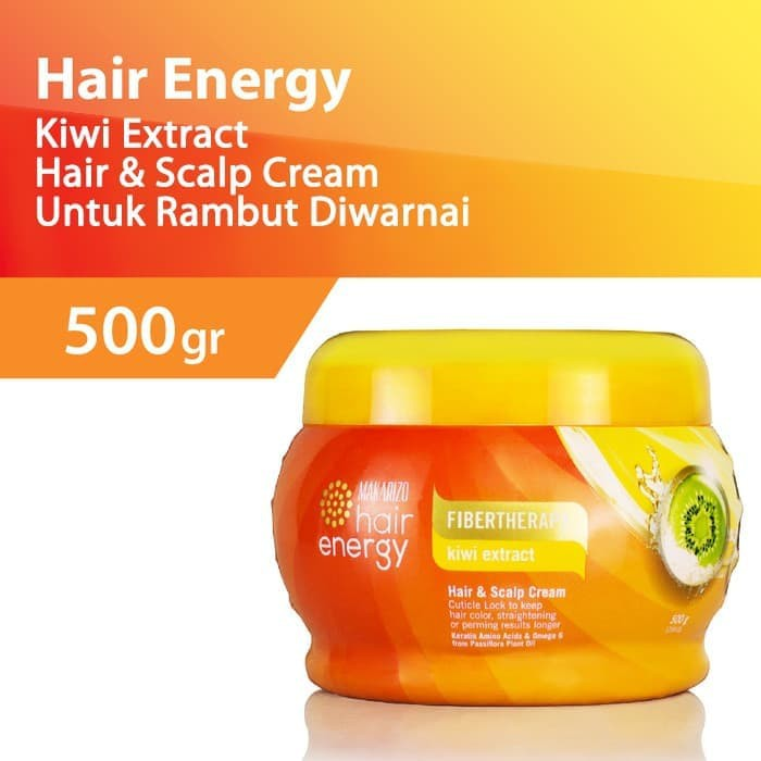 Makarizo Hair Energy Hair Scalp Creambath Kiwi 500gr Shopee Indonesia