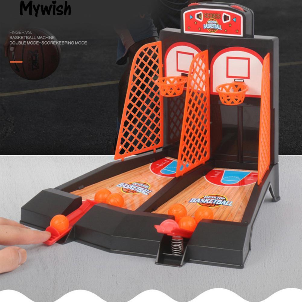 Meja Basket Mini Bermain Mainan Kit Keluarga Olahraga Permainan Rumah Bola Basket Shopee Indonesia