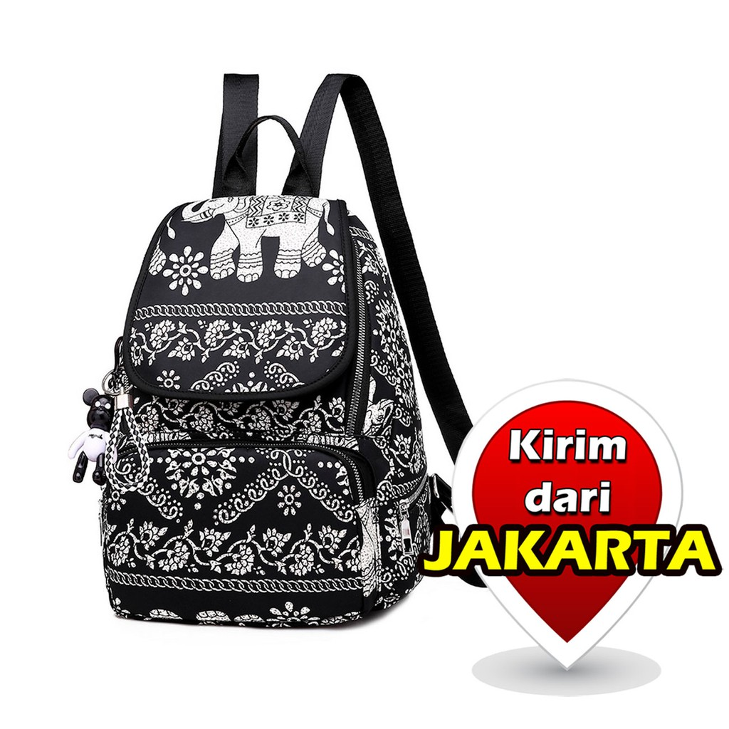Tas Ransel Batam Wanita Import Fashion 7141 | Shopee Indonesia