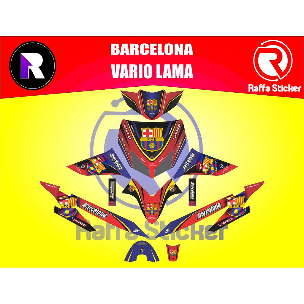 Decal sticker honda vario fullbody eps103 shopee indonesia