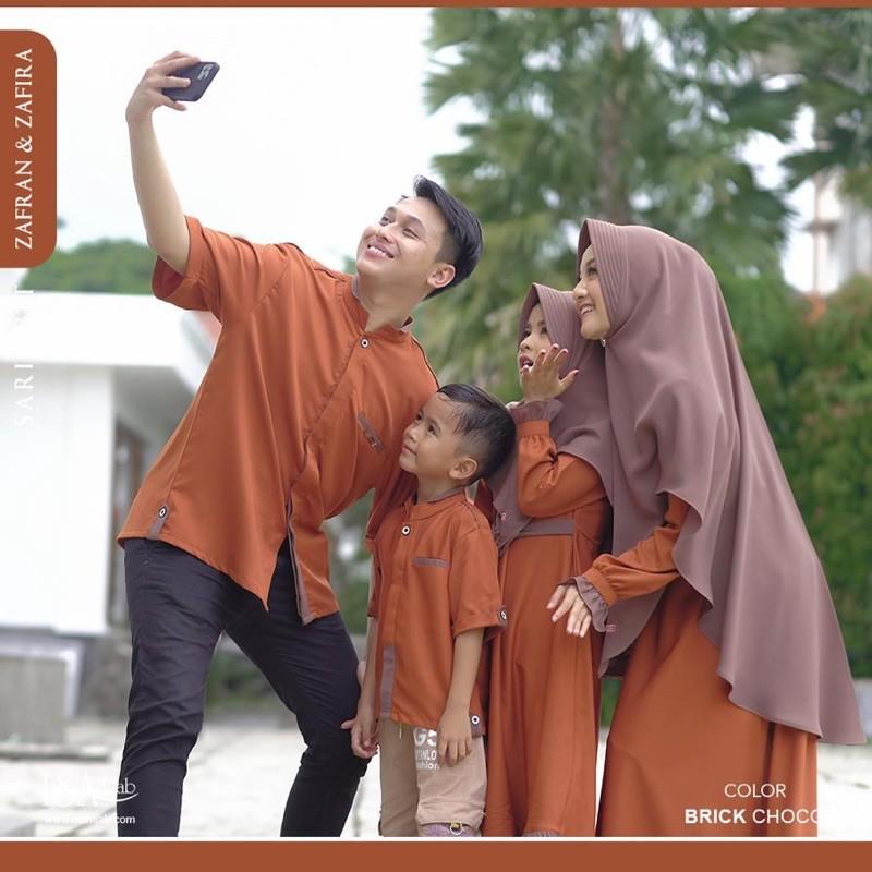 Couple Zafran & Zafira by Isa Hijab Original