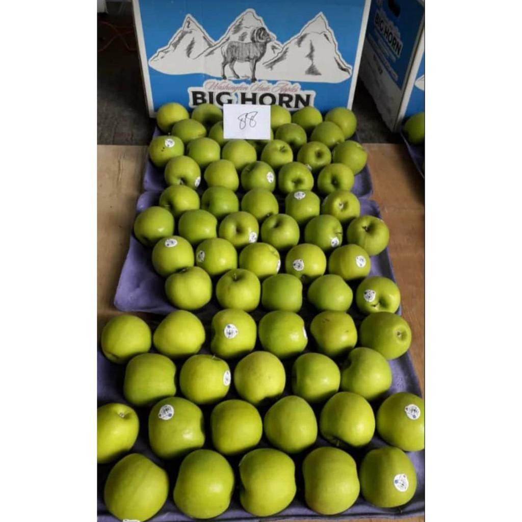 Apel Hijau Granny Smith BigHorn USA 1 Dus (20 KG) Fresh Import