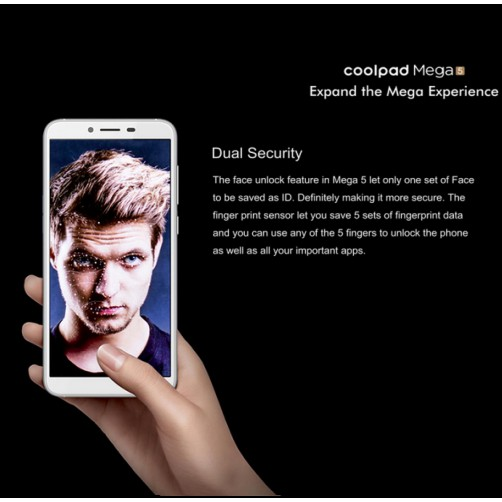 Coolpad Mega 5 Mobile Phone 3GB RAM 32GB ROM 3000mah Battery