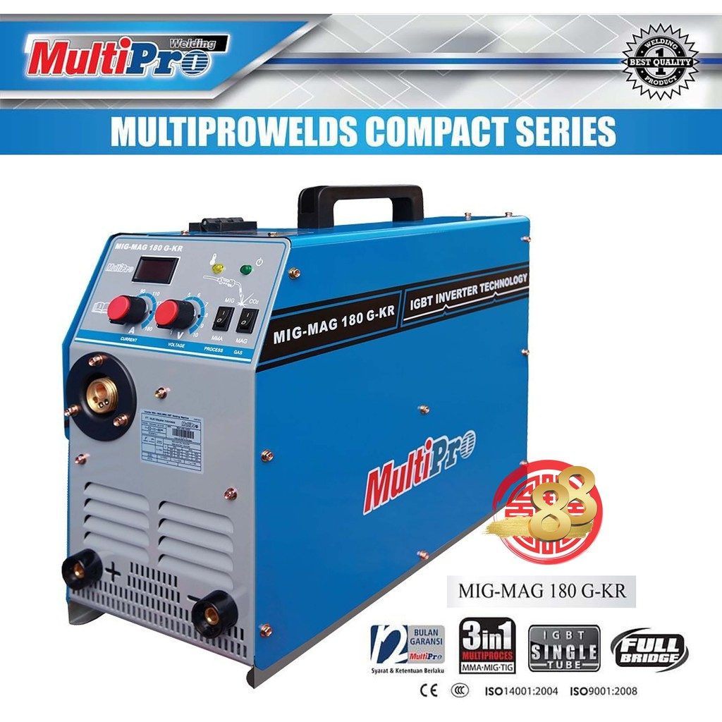 Multipro Travo Mesin Las Listrik 450 Watt Inverter 2in1 Tig Argon Mma 120 A G Kr 200 Sa 200a Shopee Indonesia