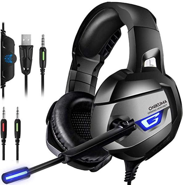 EACH G9000 Gaming Headset Mic for PS4//Xbox One Stereo Gaming Headset Headphone