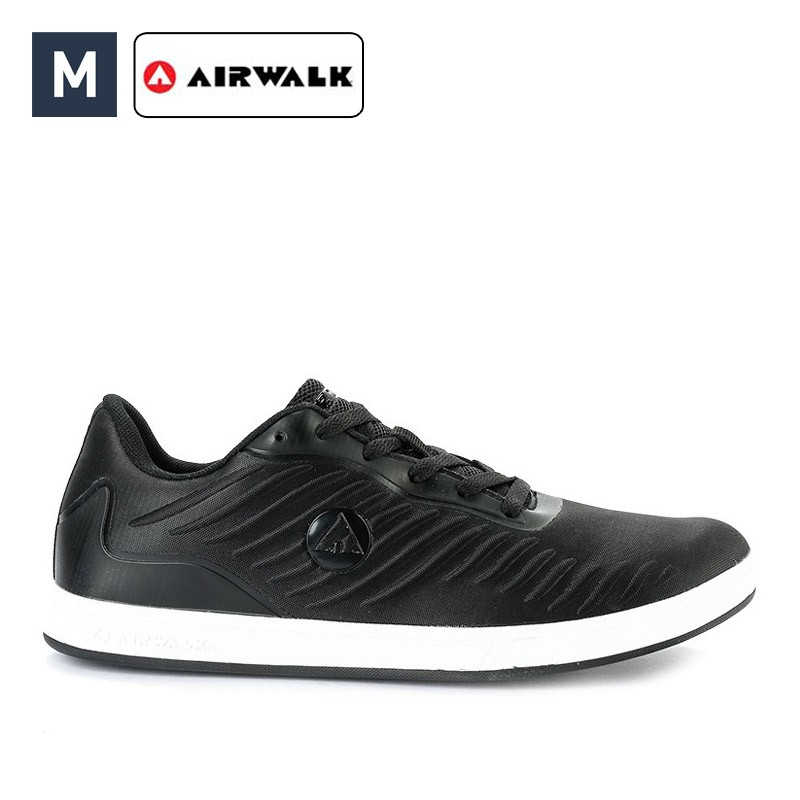 Sepatu Airwalk Pria Kosh Sneakers Full Black  d8997aff60