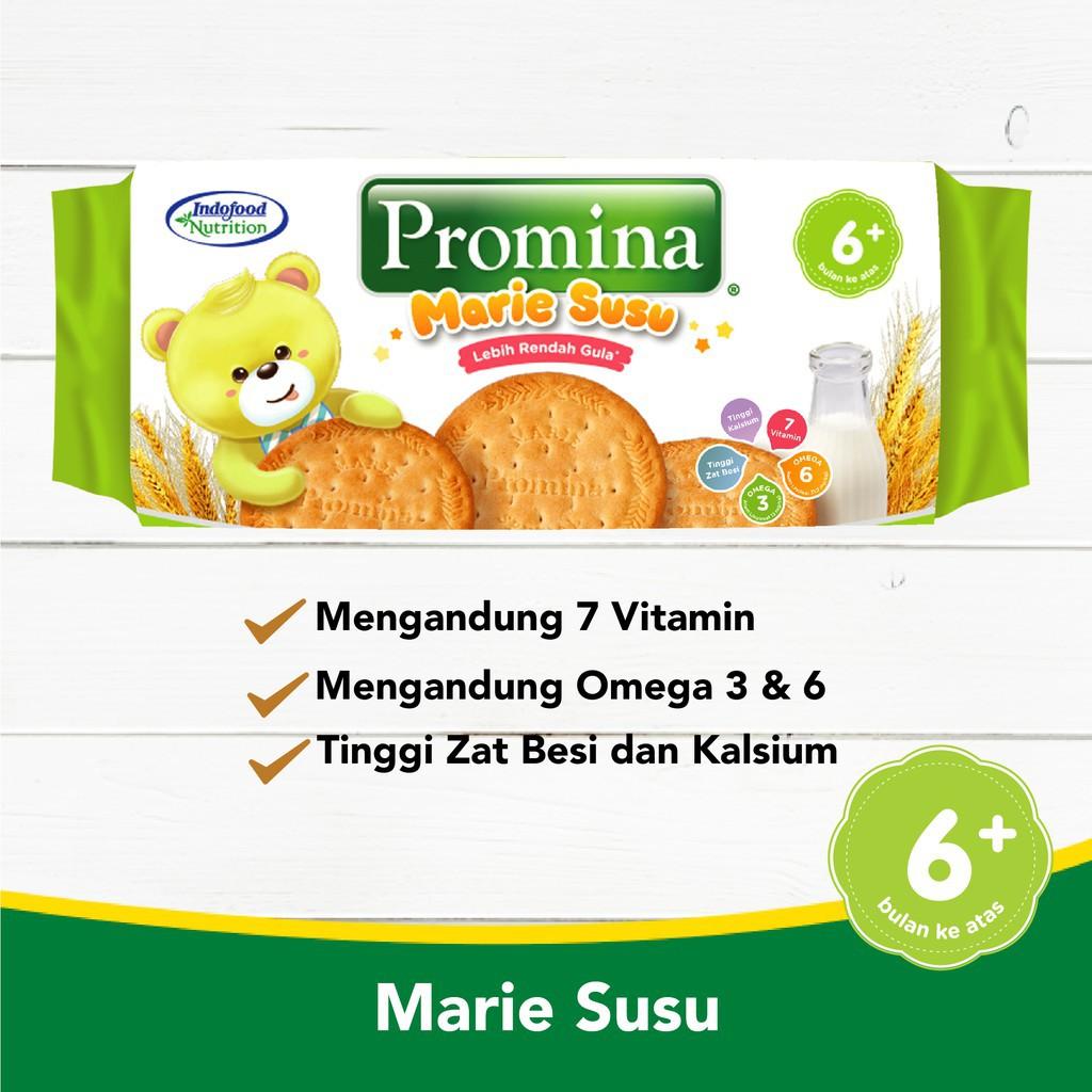 Promina Marie Roll New 150 Gr X 1 Pcs Snack Bayi 6 Bulan