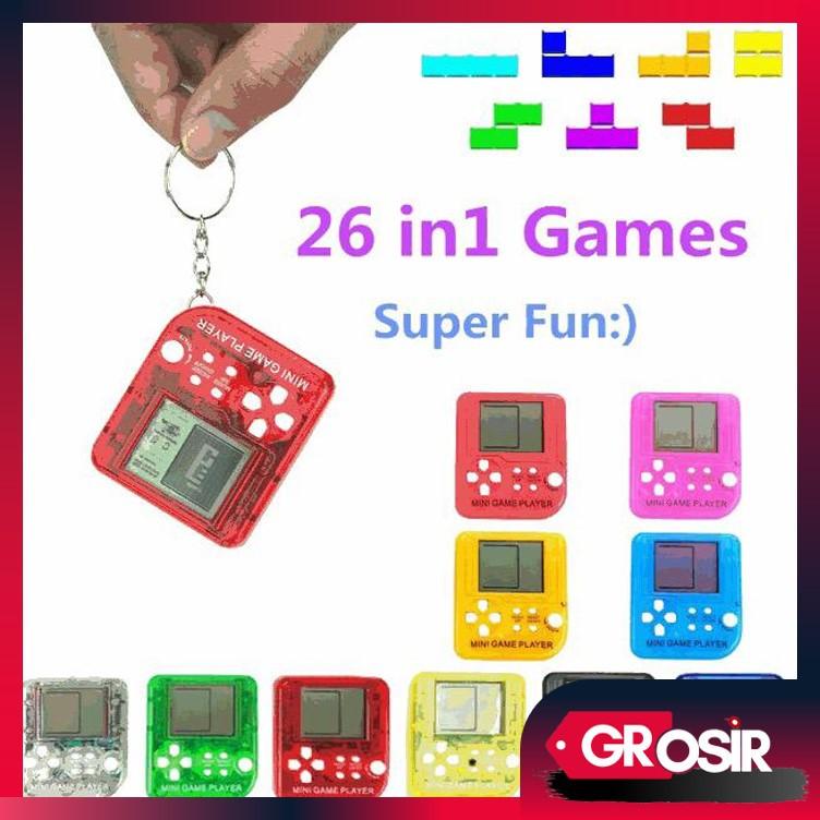 Grosir 397 Console Game Tetris Mini Portable Game Tetris Gantungan Game Tetris Game Elektronik Shopee Indonesia