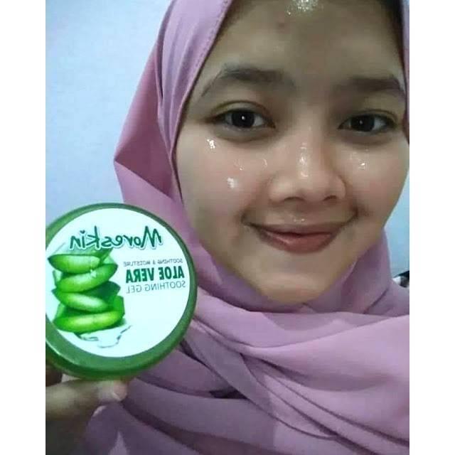 Moreskin Aloevera Gel Masker Lidah Buaya Original Nasa Shopee Indonesia