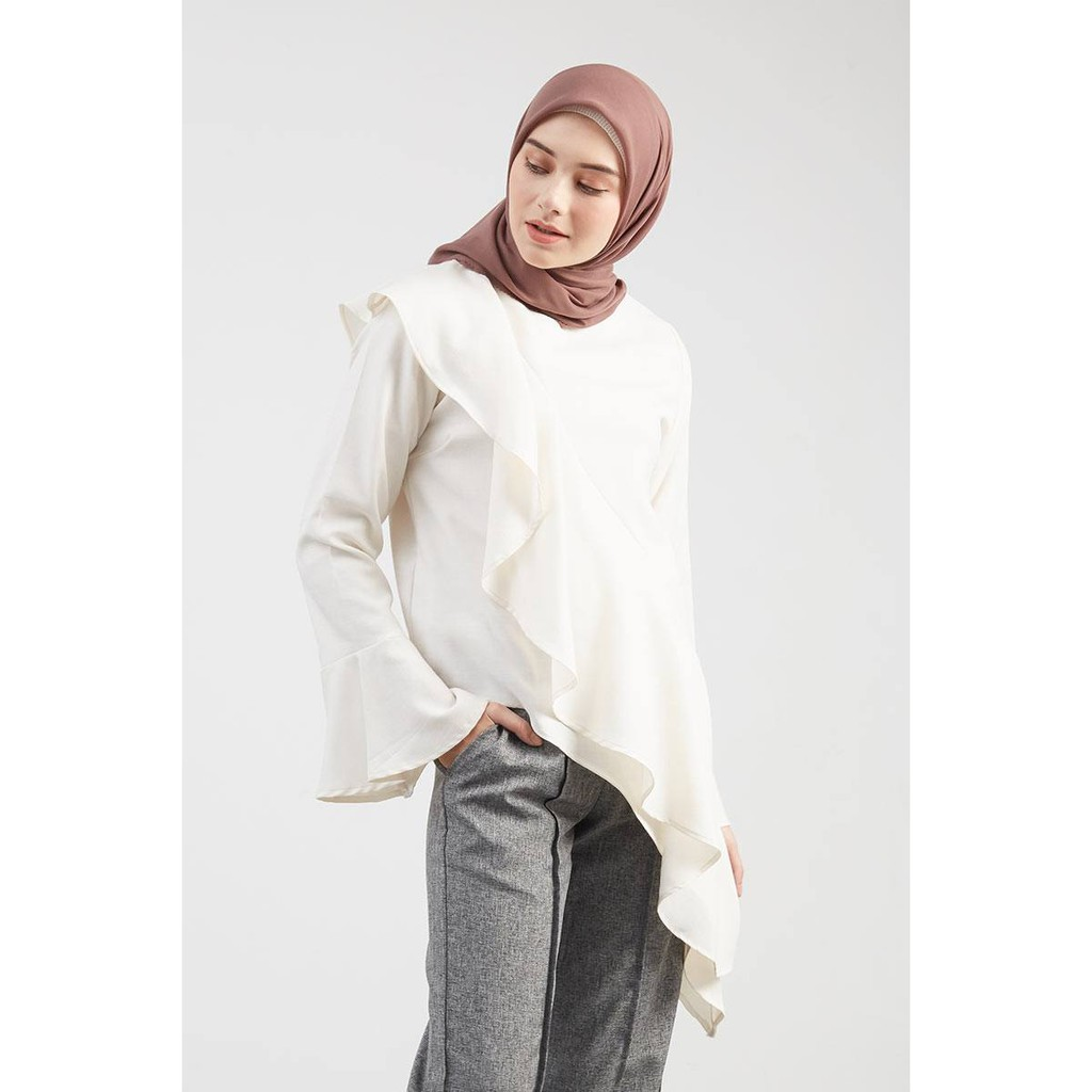 Toko Online Zafirahstoreid Shopee Indonesia Hijabenka Freja Top