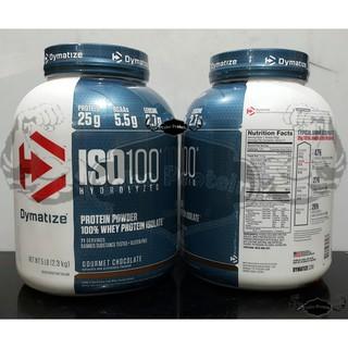 Dymatize Iso 100 Whey Protein Isolate 5 Lbs Lb 5lbs 5lb Iso100 whey