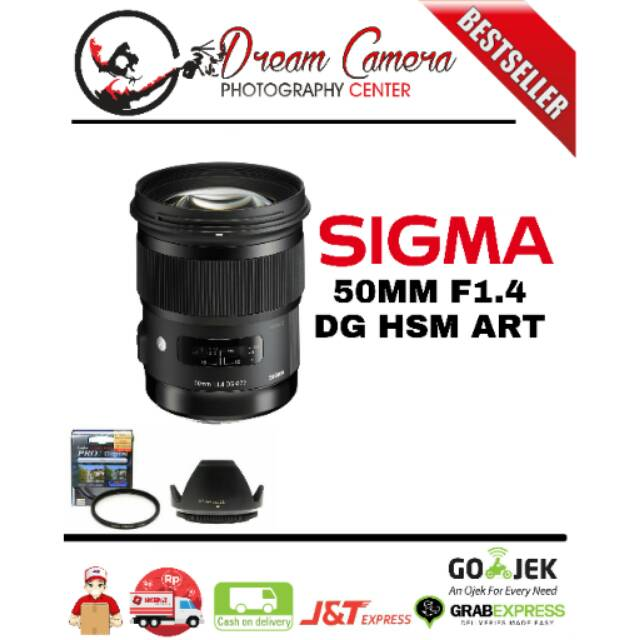 SIGMA ART 50MM F1 4 DG HSM FOR CANON/NIKON