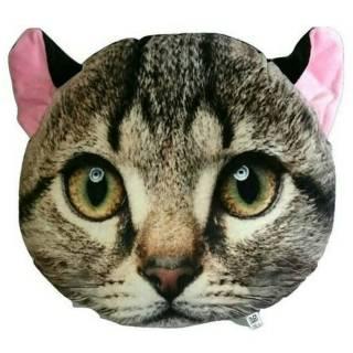 Boneka Bentuk Kepala Kucing
