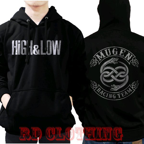Jaket Sweater Hoodie Mugen High And Low Keren Rd Clothing Shopee Indonesia