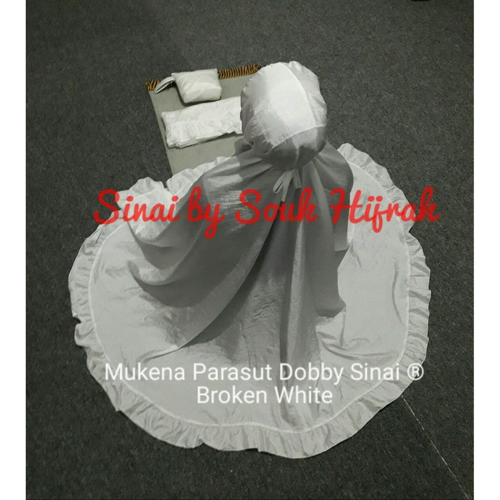 Rumahtazkia Dandelion White Shopee Indonesia Mukena Tazkia Rayon Folksy Artwork Blue