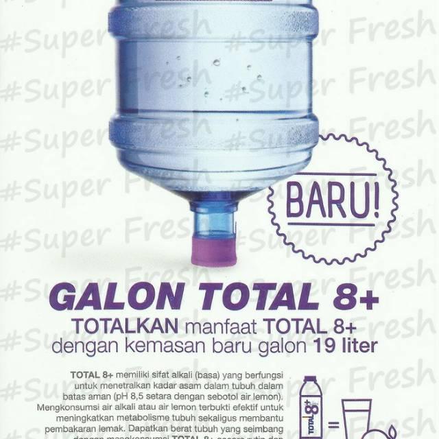 Total 8 Water Gallon 19 Lt Air Minum Total 8 Air Alkali Shopee Indonesia