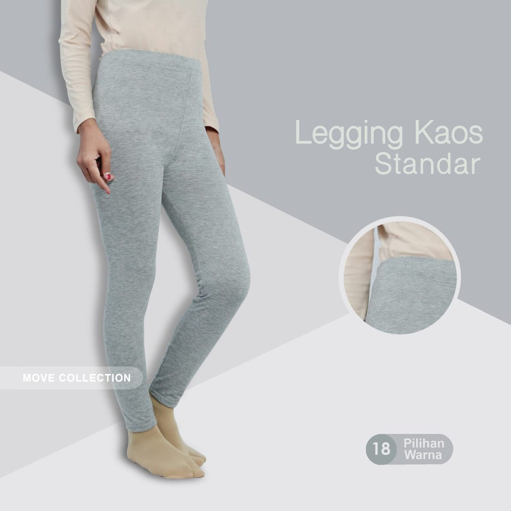 Legging Bahan Kaos Rayon Allsize Shopee Indonesia