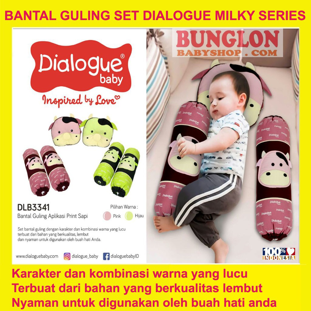 Dialogue Baby Bantal + Guling Print M.Sailor (DLB3333) | Shopee Indonesia
