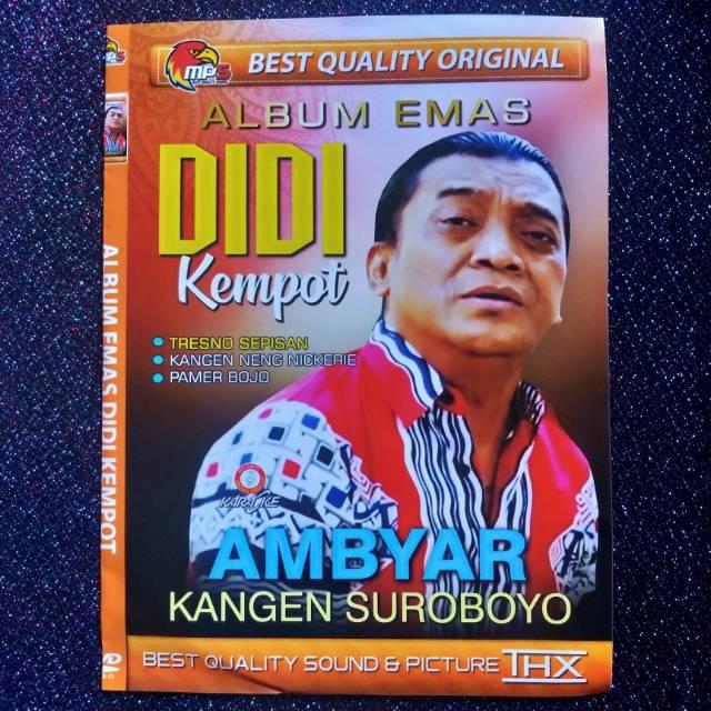 Kaset Dvd Vcd Mp5 Lagu Didi Kempot Ambyar Terbaru Shopee Indonesia