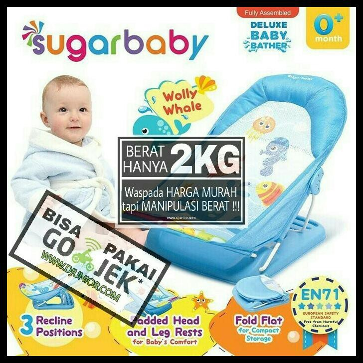 KURSI MANDI BAYI/ BABY BATHER/ SUGAR BABY DELUXE BABY BATHER | Shopee Indonesia