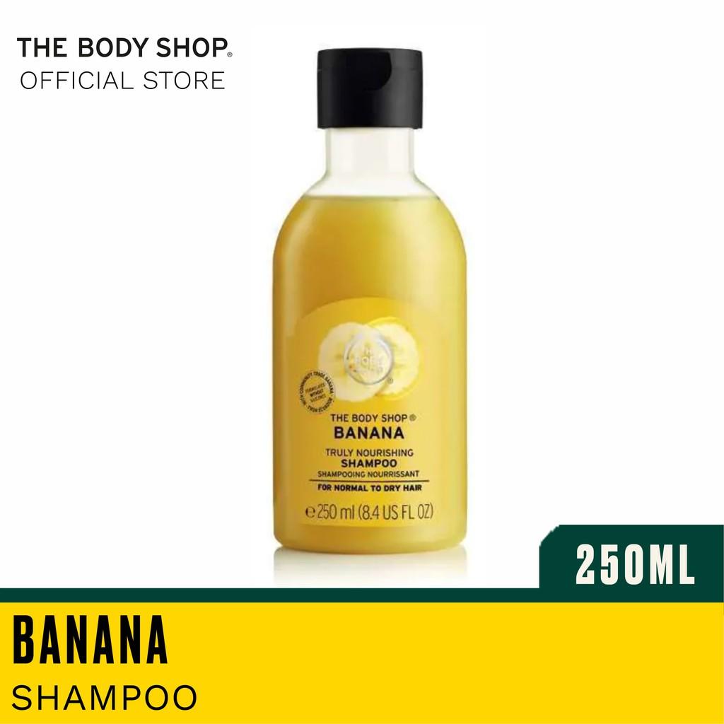 The Body Shop Banana Truly Nourishing Shampoo 250ml