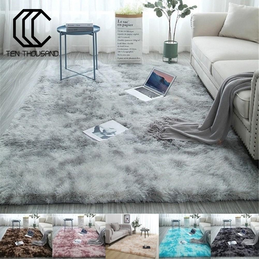 Carpet Floor Mat Fluffy Antiskid Area