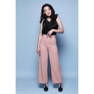 SCUBA HW KULOT/celana/womenwear/kulot scuba/highwaist