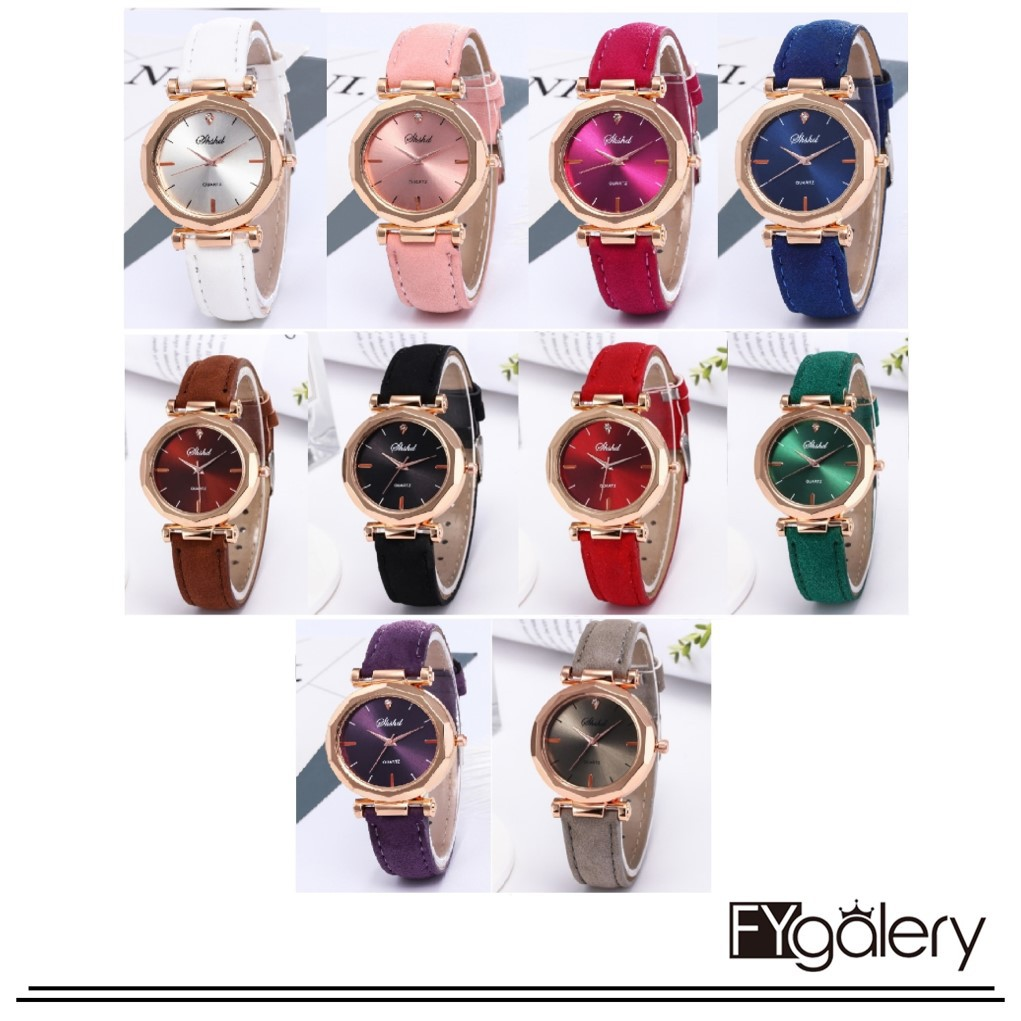 Jam Tangan Wanita Top Julius Lady wanita 5 Warna Auto Tanggal Wrist Watch Elegant Shell Retro Mode   Shopee Indonesia
